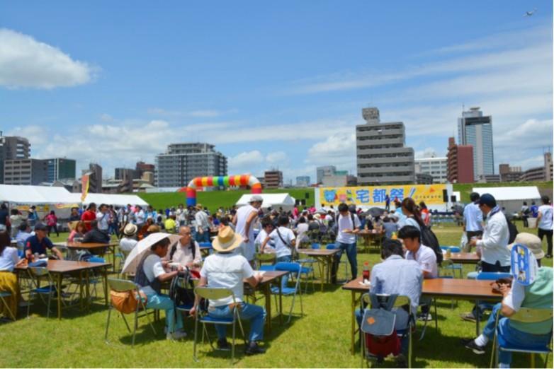初の入居者向け感謝イベント「宅都祭」開催